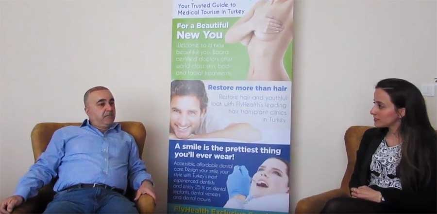 After Care Hair Transplantation interview with patient from London Flyhealth