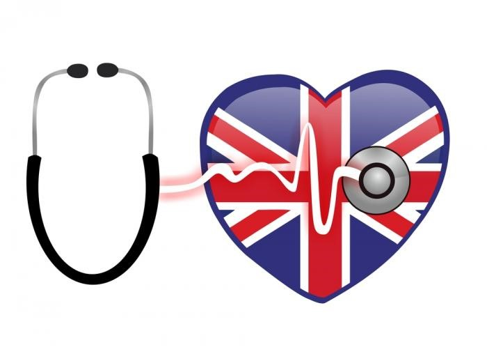 British people are covered by general health insurance know as NHS
